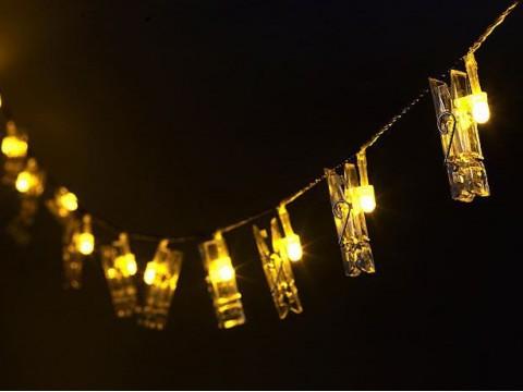 Lichtsnoer Fotocollage