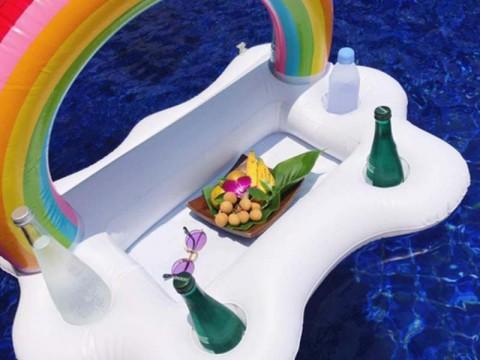 Drijvende Regenboog Drankhouder