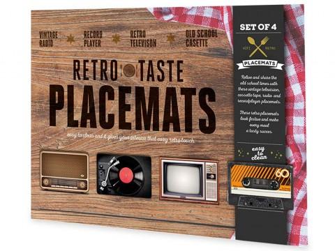 Retro Placemats (4)