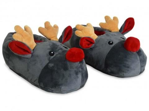 Rudolph Reindeer Slippers