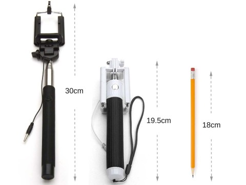 Wired Pocket Selfie Stick