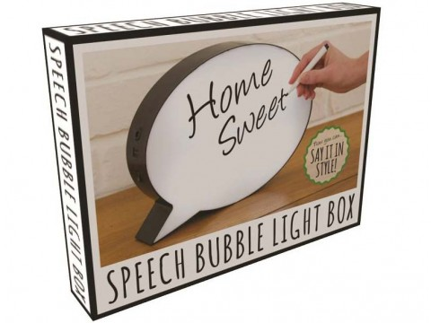 LED Speech Bubble