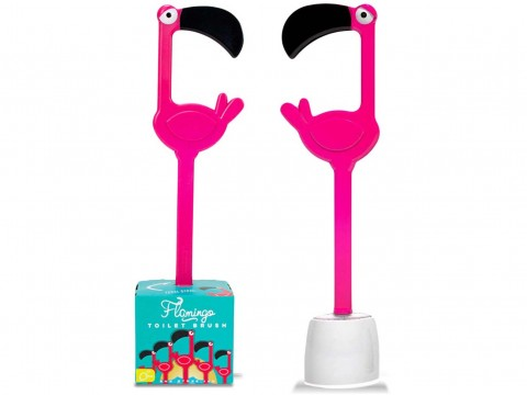 Toilet Brush Flamingo