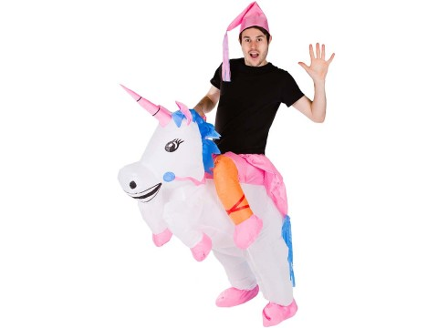 Costume Gonflable Licorne