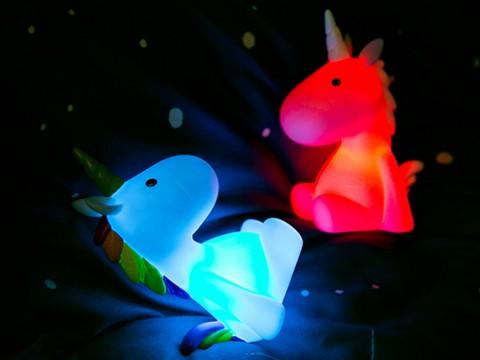 Eenhoorn Regenboog Nachtlamp